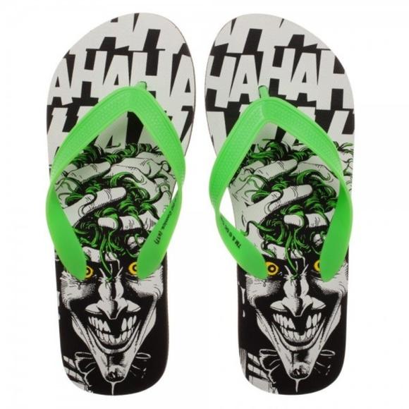0f25068e0236d Medium - Joker HAHA Laugh Flip Flops Shoes Unisex Boutique